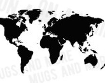 SVG World Map digital image Earth world map SVG file