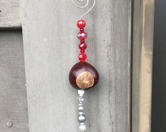 Buckeye Ornament (A17)