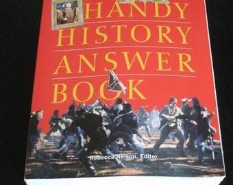 Handy History Answer Book, Ancient & Modern History, Free Shipping