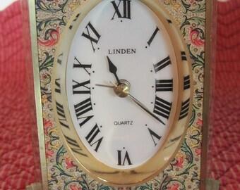 Linden Quartz Clock, Linden Clock, Quartz Clock