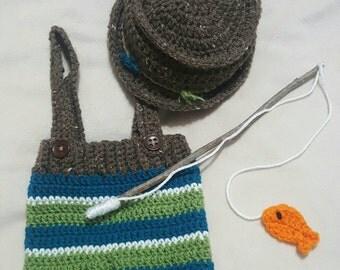Fisherman's Diaper Cover set