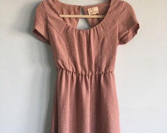Cute dusty rose size small dress
