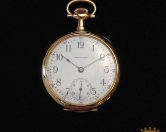 Waltham 17 Jewel Pocket Watch c. 1908