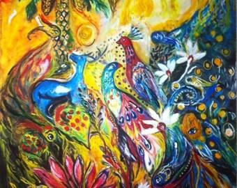 Acrylic & WaterColour ArtWork on watercolour paper