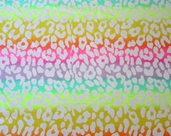 Animal print Lycra/Spandex 4 way stretch Finish Fabric