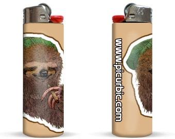 Rasta Sloth Edition Lighter by Pic Ur Bic