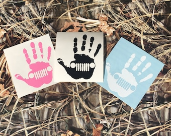 Jeep Wave Decal - Jeep Sticker - Jeep Girl - Jeep Logo Decal - Laptop Decal - Water Bottle Decal - Yeti Decal - Yeti Decal for Women - Jeep