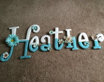 Cute letters to dress up any nursery!