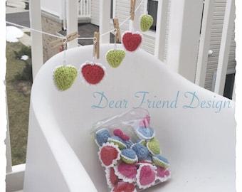 Hand made crochet keychain