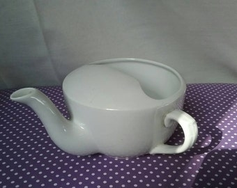 Invalid/nursing/feeding cup. Antique spill proof cup. Circa 1900. Made by Regnal London.