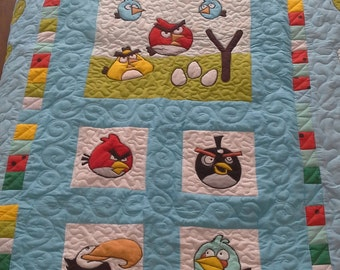 Full quilt Angry birds