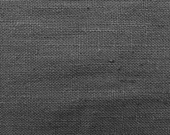 Linen natural - color: grey - 100% natural fiber - 0.5 m