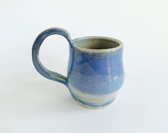 Blue Clay Mug
