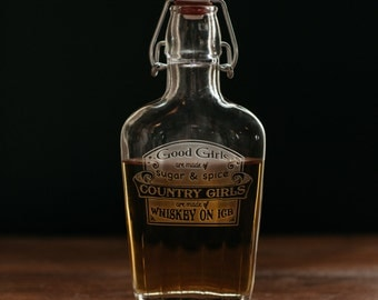 Country Girls Whiskey Flask