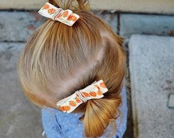 Harvest Pumpkin Bow