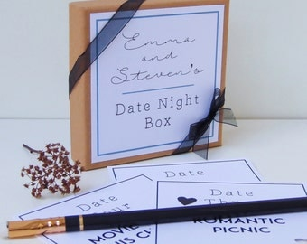 Date Night Box|Date Night Jar|Date Night Cards