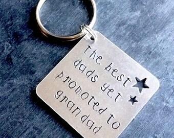 Grandad keyring, grandad keychain, best grandad keyring, grandad gift, best grandad, gift for grandad, grandfather keyring, personalised
