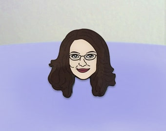 Liz Lemon Enamel Pin