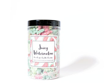 Juicy Watermelon Scented Soy Wax Crumbles