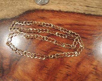 Gold Tone Oval Shape chain