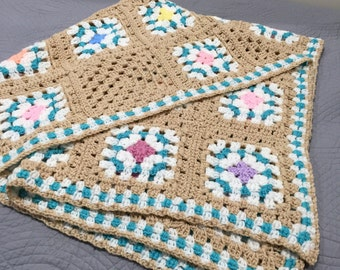 Afghan 52 x 34 single size