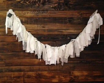 Bunting- all white