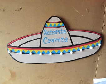 Cinco de Mayo Sombrero Door Hanger