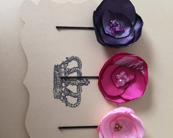 Handmade Flower Hairpins