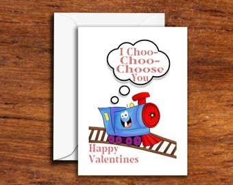 Holidays - Valentines Day - I Choo Choo Choose You