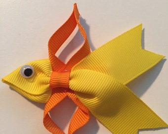 Goldfish hair clip