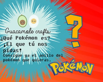 Pedidos personalizados Pokémon! / We do custom orders from Pokémon!