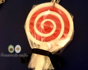 Clay lollipop polimerica fimo / lollipop made of fimo polymer clay.