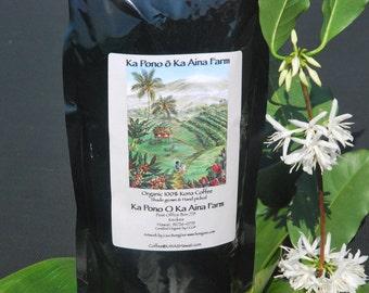100% Organic Kona Coffee 16oz