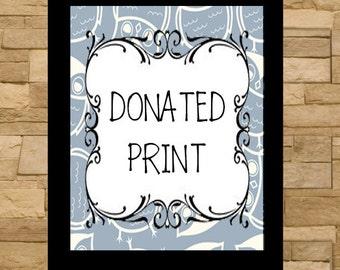 Donated Print