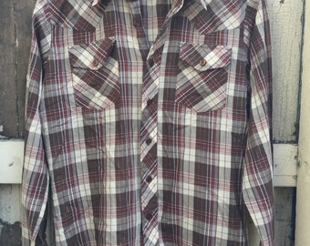 Country Plaid Button Down