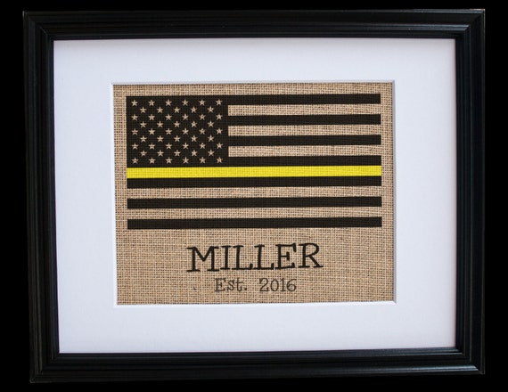 Tow Truck Driver Gift Thin Yellow Line Flag Gifts For Loss