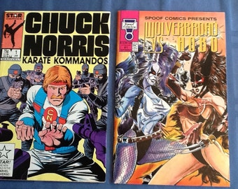 Chuck Norris and Wolverbroad Comics