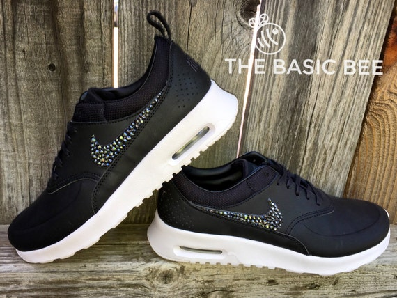 good Swarovski Nike Shoes Bling Nike Air Max Thea by THEBASICBEESHOP ... 4414ade651