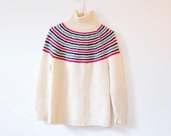 Vintage wool knit S