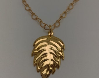 Delicate gold filled necklace