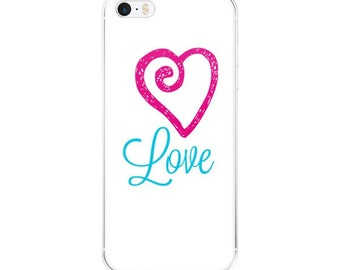 iPhone case/LOVE/Turquoise/Pink/iphone 5/iphone 6/iphone 6Plus