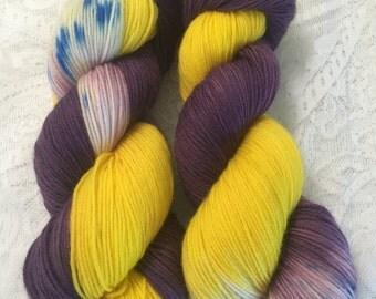 Princess Zelda - Handdyed Yarn, sock yarn, RTS