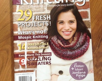 Love of Knitting winter 2012