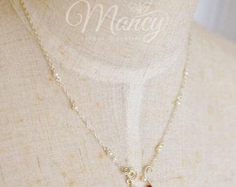 Aquarius Handmade Constellation Necklace