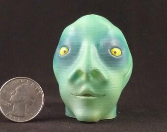Snake-Eye Willie (#2): 3D Printed Alien Creature