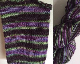 Self striping, Wonderful Nightmare, sock yarn