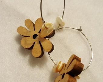 Wooden Flower Power