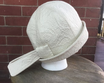 Handmade Cloche Style Hat