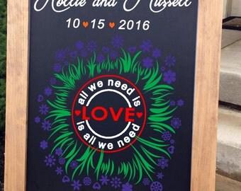 Wedding Sign, Wedding Welcome Sign, Rustic Wood Wedding Sign, Wood Wedding Sign, Wedding Chalkboard, Wedding Signs, Rustic Welcome Sign