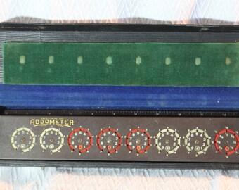 Vintage Addometer Adding Machine